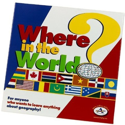 TaliCor Where In The World Board Game