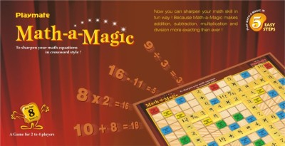 Playmate Math-A-Magic Board Game