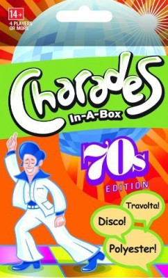 Charades-in-a-box 70s Edition Board Game