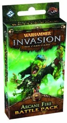 Fantasy Flight Games Warhammer Invasion Lcg Arcane Fire Battle Pack Board Game