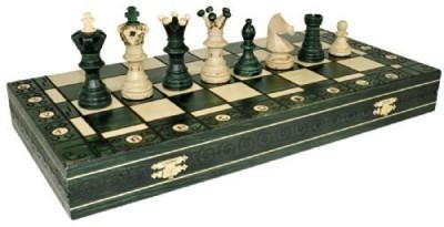 Wegiel Green Ambassador Chess Wooden 21X21 Board Game