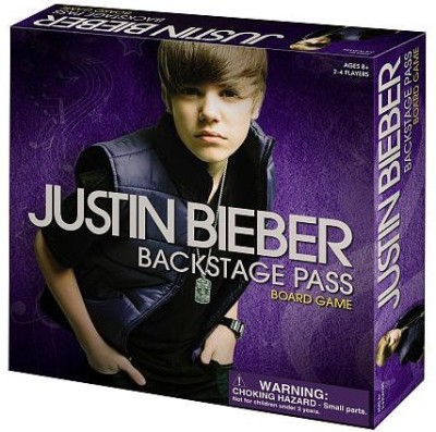 Longshore Limited Justin Bieber Backstage Pass Board Game