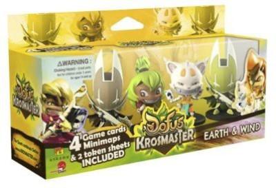 Japanime Games Krosmaster Arena Earth And Wind Expansion 4 Board Game