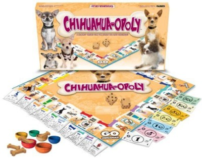 Late for the Sky Chihuahua-opoly Board Game