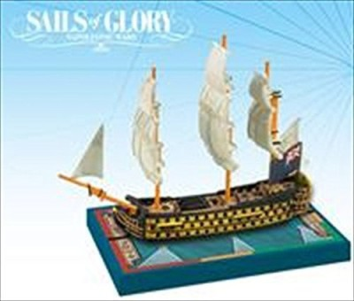 Ares Games Sails Of Glory Ship Pack Hms Royal Sovereign 1786 Board Game