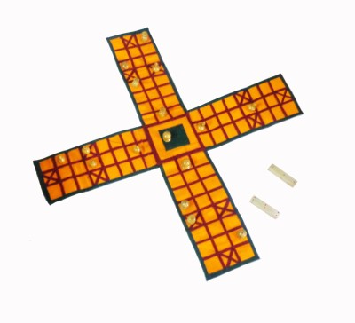 Spardha Pachisi Cotton Board Game