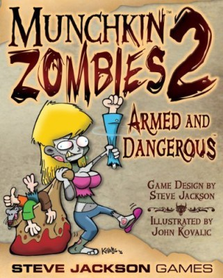 Steve Jackson Games Munchkin Zombies 2 Armed And Dangerous Board Game