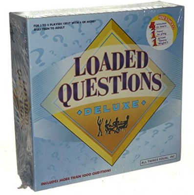 All Things Equal, Inc. Loaded Questions Deluxe Board Game