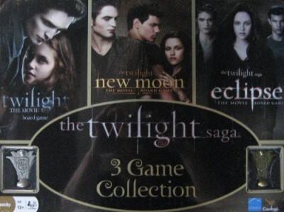 Twilight Saga 3 Collection In Collector Tin Twilightnew Moon& Eclipse Board Game