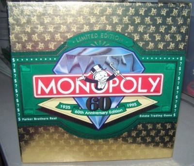 Monopoly 60Th Anniversary Edition Board Game