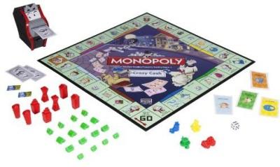 Monopoly Crazy Cash Board Game