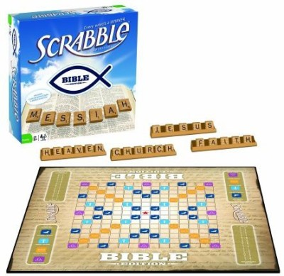Fundex Bible Scrabble Board Game