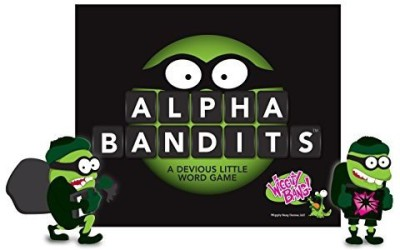 Wiggity Bang Games Alpha Bandits Board Game