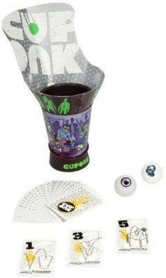 Hasbro Cuponk Let It Rip With Back Board Game