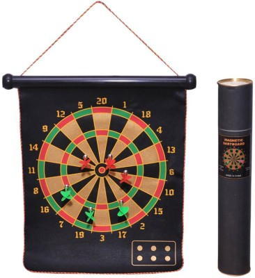 Zest4toyZ Magnetic Dartcircle Black Board Game