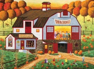 Buffalo Games Art Poulin Barn Dance 1000 Pieces Jigsaw Puzzle Board Game
