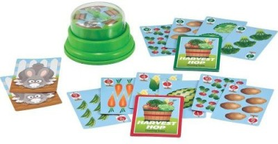 Melissa & Doug Press And Spin Harvest Hop Board Game