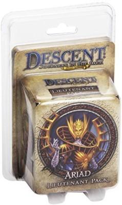 Fantasy Flight Games Descent Second Edition Ariad Lieutenant Pack Board Game