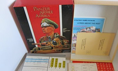 Avalon Hill Panzer Armee Afrika Board Game