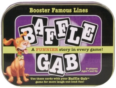 Discovery Bay Games Baffle Booster Famous Lines Board Game