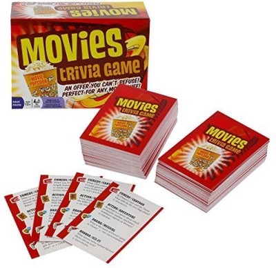 Outset Media Movies Trivia Fun Cinema Question Based Board Game