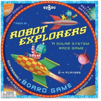 eeBoo Robot Explorers Board Game