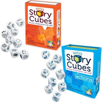 Gamewright Rory,S Story Cubes Original And Board Game