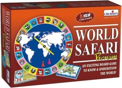 Creative Education World Safari Premium Board Game