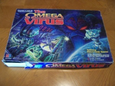 Milton Bradley The Omega Virus Board Game