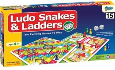Sunny Ludo, Snake & ladders 15 Board Game