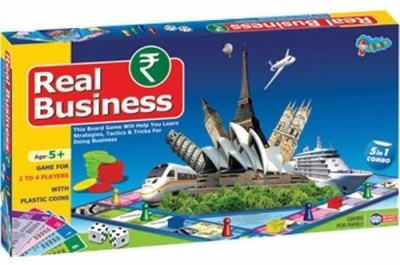 Sunny Real Business 15 Board Game
