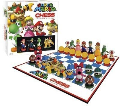 USAopoly Super Mario Chess Collectors Edition Board Game