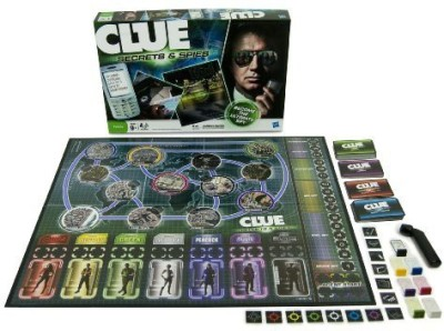 Clue Secrets And Spies Board Game