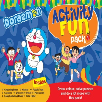 BPI Doraemon - Fun Activity Pack Board Game