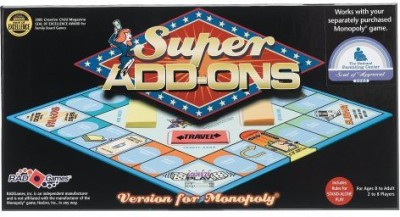 Rad Games Super Addons – Version For Monopoly Board Game