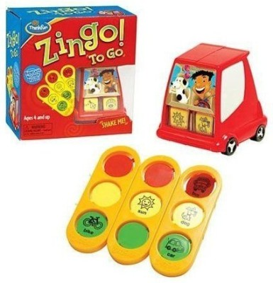 Think Fun Thinkfun Zingo To Go Board Game