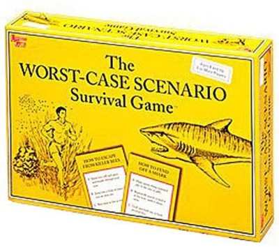 University Games Worst Case Scenario Board Game