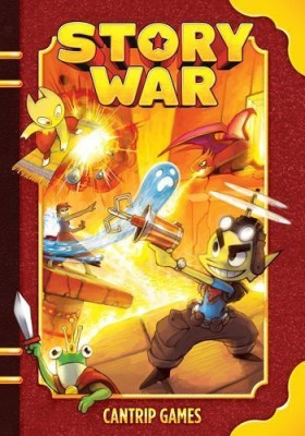 Cantrip Games Story War Volume 1 Board Game