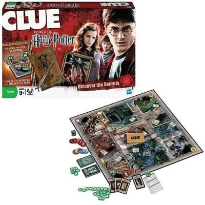 Clue World Of Harry Potter Board Game