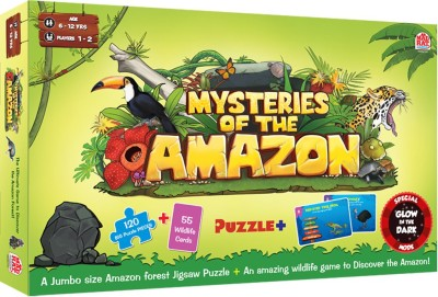 MadRat Games Madrat Games Mysteries Of The Amazon Board Game