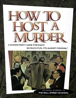 Decipher How To Host A Murder The Wall Street Scandal Board Game