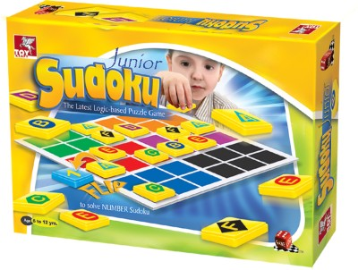 TOY KRAFT Junior Sudoku Board Game
