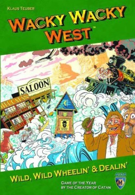 Mayfair Games Wacky Wacky West Board Game