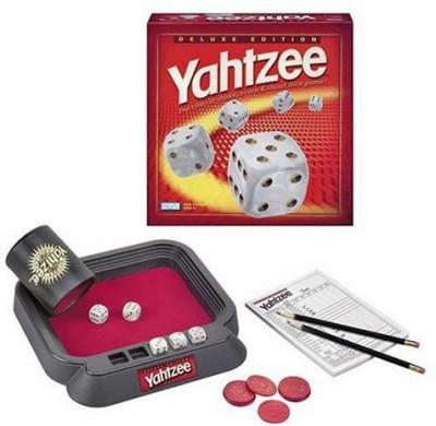Hasbro Yahtzee Deluxe Edition Board Game