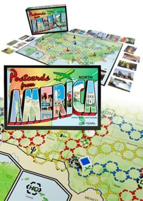 Geotoys Postcards From America Board Game
