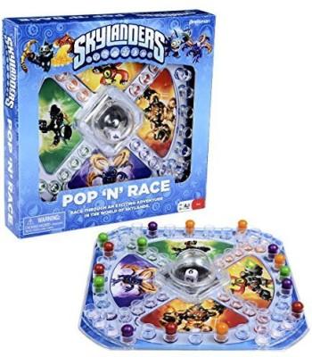 Pressman Toy Skylanders Pop N Race Board Game