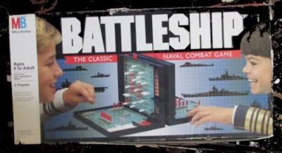 Milton Bradley Battleship 1990 Edition Board Game