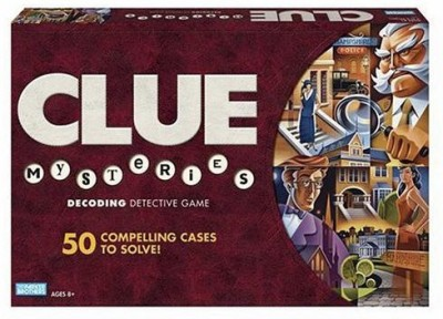 Hasbro Clue Mysteries Board Game