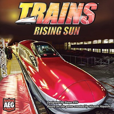 AEG Trains 2 Rising Sun Board Game
