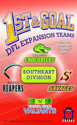 R & R Games 1St And Goal Expansion 3 Southeast Division Board Game
